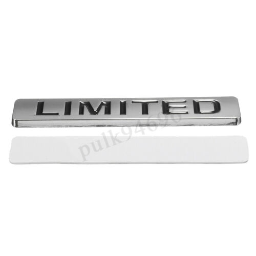 Universal LIMITED Logo Metal Emblem Badge Decal Sticker Car Body Side  //