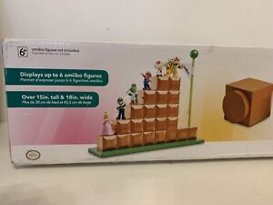 amiibo NINTENDO End Level Modular Display Stand espositore stile 8bit
