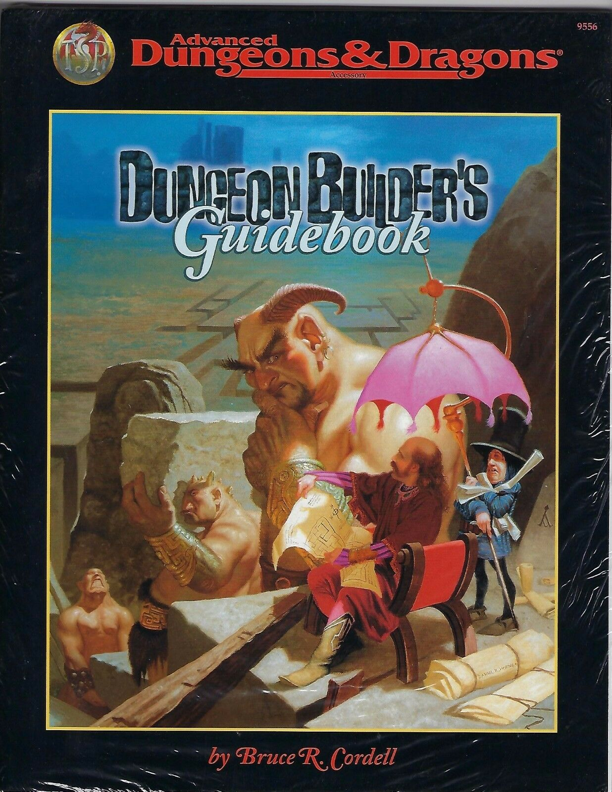 NEW FACTORY SEALED AD&D Dungeon Builders Guidebook 1998 TSR 9556