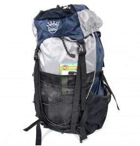 4e2bc35087 35L ajustable bleu Voyage Camping Randonnée Trekking Sac à dos ...