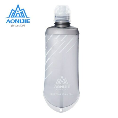 170ML Hydration Nutrition Energy Gel Soft Flask Water Bottle Reservoir Container