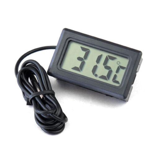 Tester Car Digital LCD Temperature Thermometer Meter Temp Sensor 1m Probe ST-116