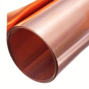 0-2mm-100mm-1000mm-99-9-reines-Kupferblech-Kupferfolie-Rolle