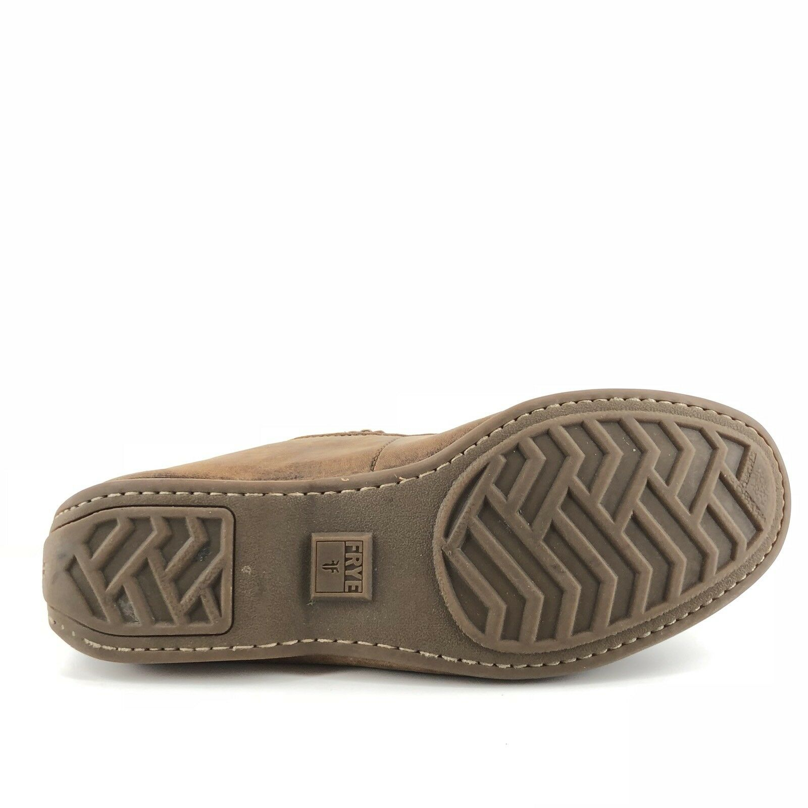 0f98722729a ... Frye Lewis Venetian Brown Brown Brown Leather Loafers Driving Mocs Mens  Size 7.5 M 8a8a00