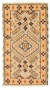 Hand-knotted-Carpet-2-039-1-034-x-4-039-0-034-Royal-Kazak-Grey-Wool-Rug