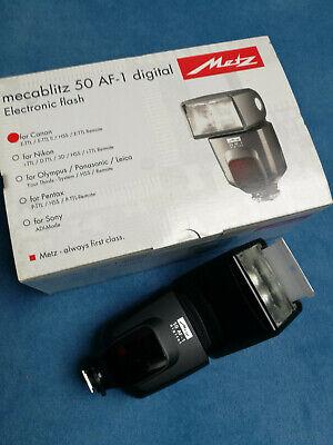 Metz Flash per Canon Mecablitz 50 af 1 Digital   eBay