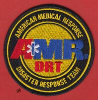 Amr Drt American Medical Disaster Response Team Emt Paramedic Shoulder Patch