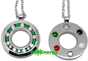 Powerful quantum scalar energy pendant necklace balance chain power image is loading powerful quantum scalar energy pendant necklace balance chain mozeypictures Gallery