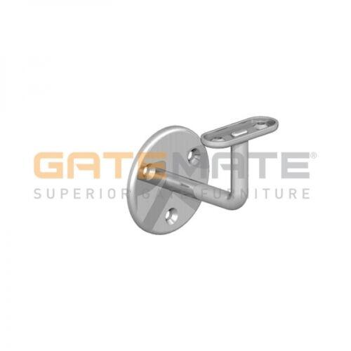 Gatemate Pack Of Two Handrail Brackets Zinc//White//Epoxy Black Finish Available