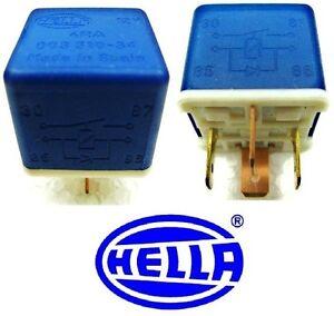 NOS-O-E-JAGUAR-NEW-HELLA-4-PIN-RELAY-003-510-34-4RA-E6A