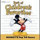 Mickey's Top 40 by Disney (CD, Jan-2004, Walt Disney)