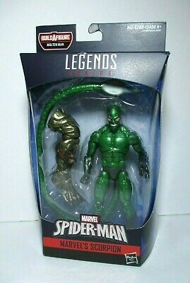 "2018 Marvel Legends Molten Man BAF MISB 6/"" Scorpion Action Figure Hasbro"