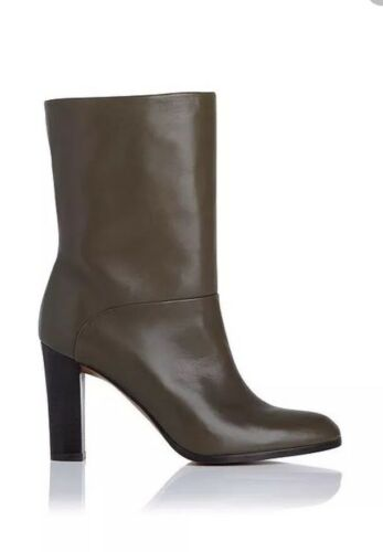 575$ NEW,RORY GREEN ANKEL BOOT,L.K.Bennett London,Sz38, Real leather,Made SPIAN