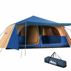 Instant-Up-Camping-Tent-10-Person-Pop-up-Tents-Swag-Family-Hiking-Dome-Beach-Wei