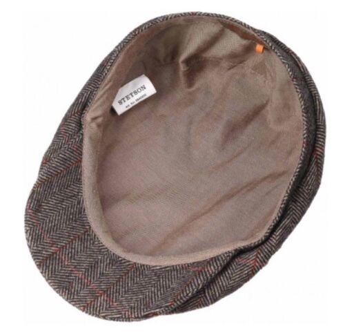 2 of 5 Stetson Europe Flat Cap Herringbone Newsboy The Oregon Wool Cap XL  61CM acee0b6fc1c3