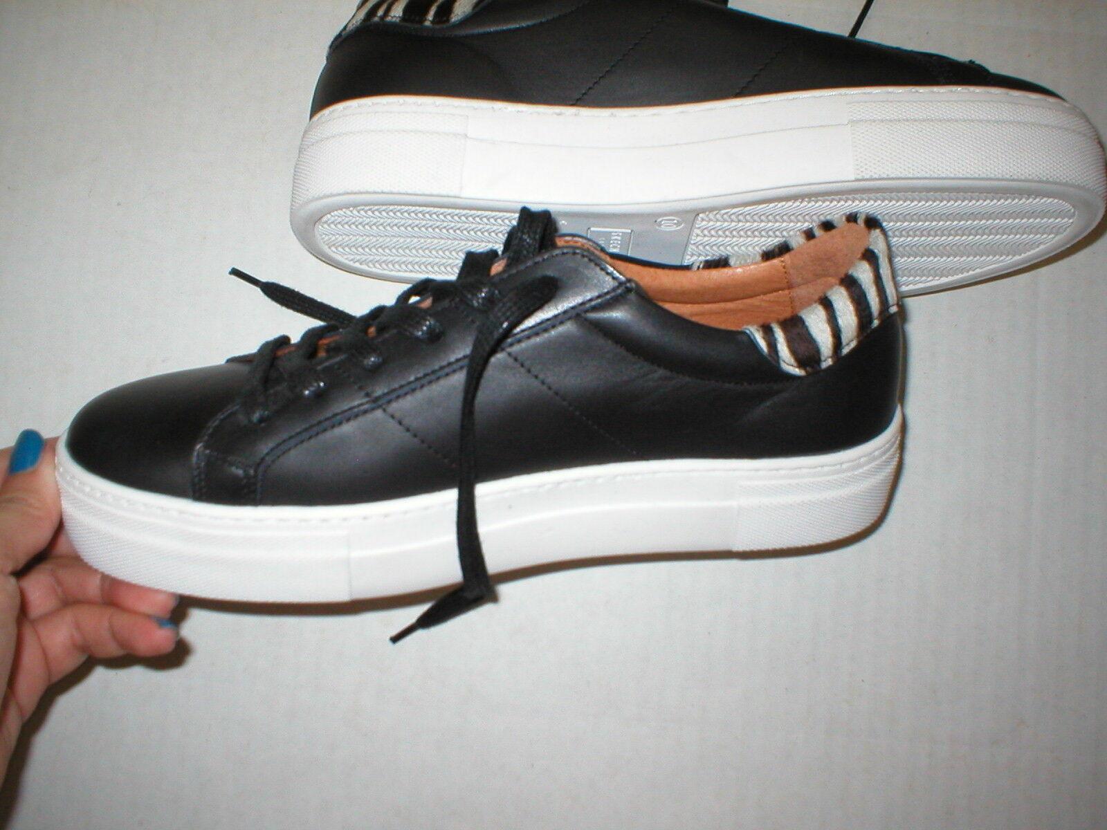 New Womens shoes Fashion Casual Sneakers 7.5 White Black Skechers Street Zebra