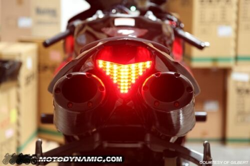2009-2014 YZF R1 YZFR1 SMOKE SEQUENTIAL TURN SIGNAL LED Tail Light