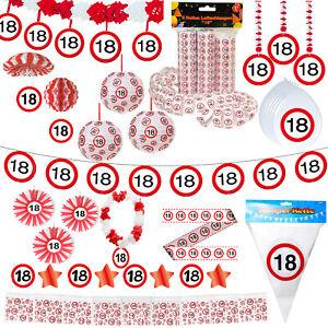 Sammeln Seltenes Fahnen Girlande 18 Geburtstag Dekoration Party