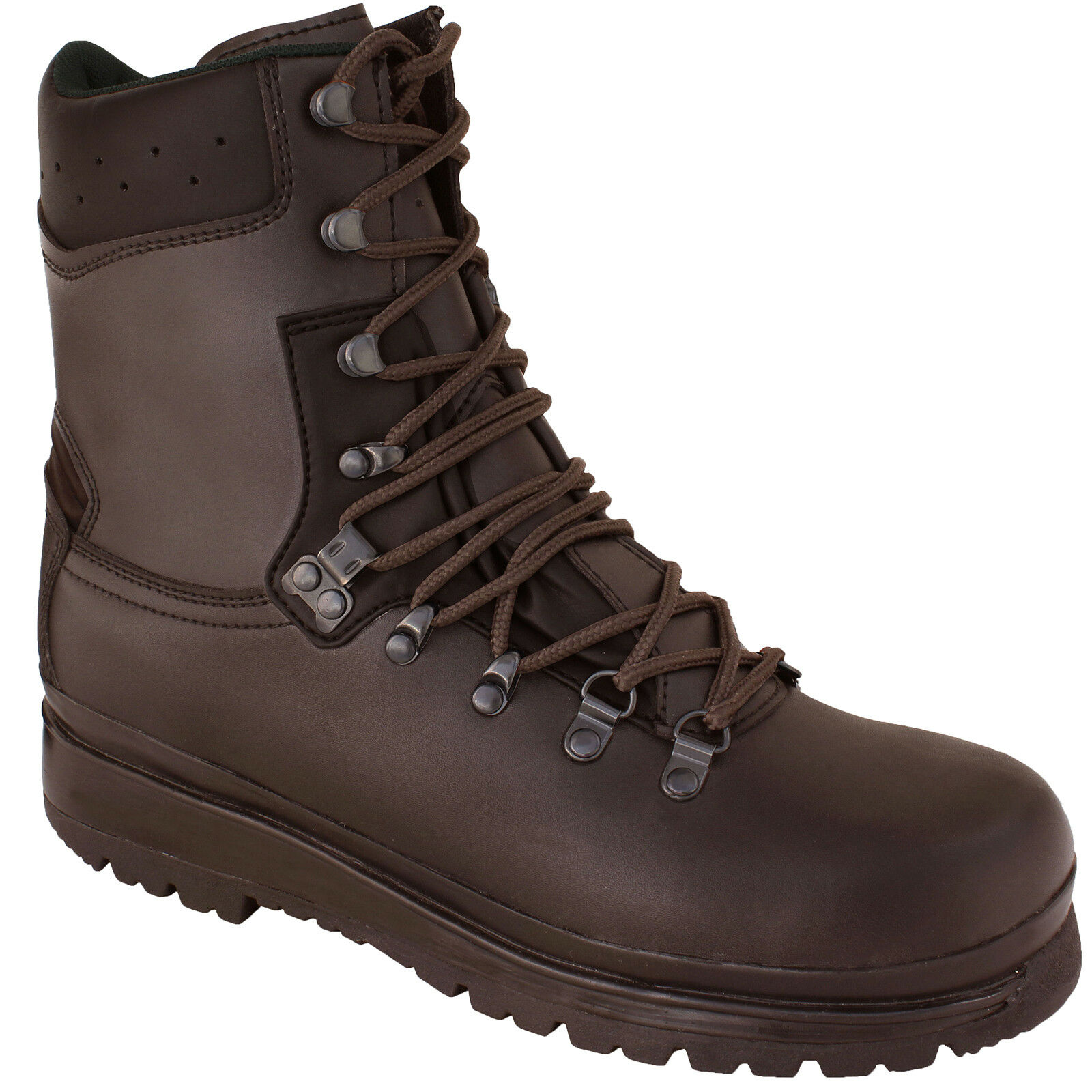 Waterproof Brown Leather Tactical Boots ELITE Military Forces Combat Army Patrol