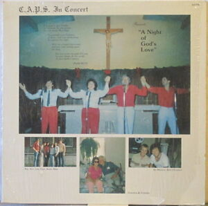 C-A-P-S-In-Concert-A-Night-of-God-s-Love-LP-w-Arnold-Jay-CAPITANELLI-caps