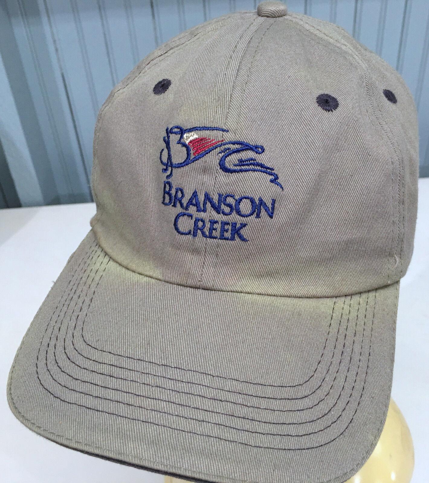Branson Discolored Creek Golf Discolored Branson Strapback Baseball Cap Hat 84828f