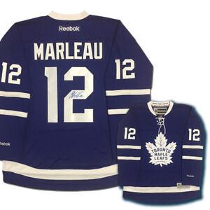 newest 4319b 4d18b PATRICK MARLEAU Signed Toronto Maple Leafs Reebok Jersey | eBay