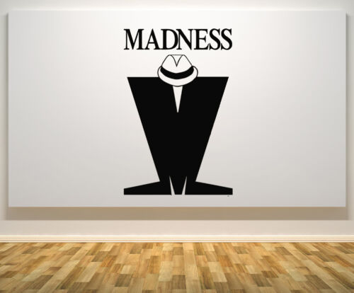Madness Sign Motto Quote Signage Ska  Music Wall Door Decal Sticker Picture