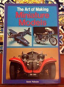 The-Art-Of-Miniature-Models-Daniel-Puioube-English-1979-Hardcover-DJ-Free-Ship