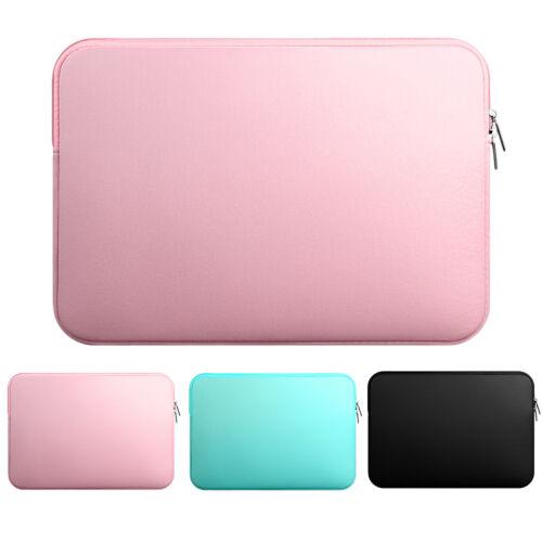 "Laptop Zipper Case Bag Pouch Carrying Pocket For MacBook Air 11/"" 12/"" 13/"" 14/"" 15/"""