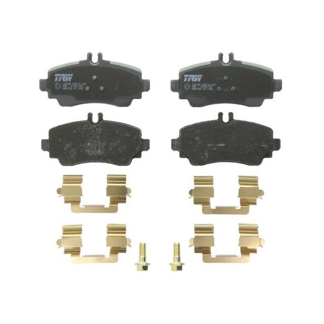 Scheibenbremse 6001250 für MERCEDES-BENZ KRAFT AUTOMOTIVE Bremsbelagsatz