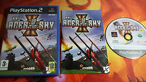 WWI-ACES-OF-THE-SKY-PAL-PLAYSTATION-2-PS2-ENV-O-24-48H