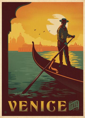 VENICE THE CITY OF A3 SIZE Vintage Retro Travel /& Railways Poster Print #3