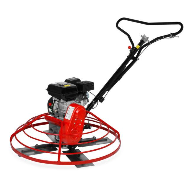 EBERTH Elicottero lisciatore Cemento Calcestruzzo Massetto Motore benzina 6,5 CV
