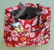 Aloha Hawaii Spirit Hawaiian Print Green Handbag Tote Beach shopping Travel H-05