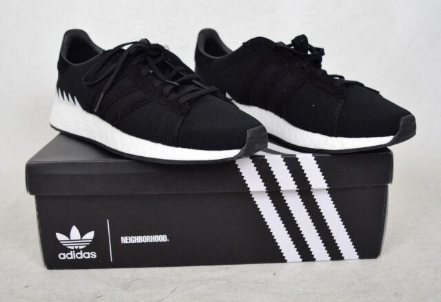 pretty nice 758ec ee4b9 adidas CHOP Shop NBHD Neighborhood Size 12 Core Black Da8839 DS