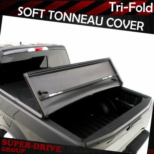 For 1999-2006 GMC Sierra 1500 2500HD 3500HD 6.5/' FT Bed Tri-Fold Soft Tonneau Co