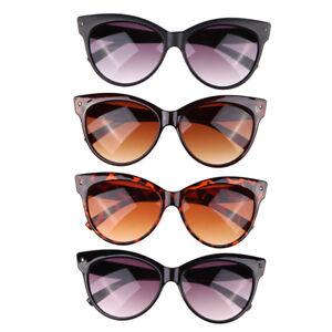 Mode-Retro-klassische-Katze-Auge-Rahmen-Sonnenbrille-Eyewear-Brille-UV400
