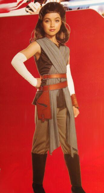 Deluxe Rey CHILD Girls Costume NEW Star Wars The Last Jedi