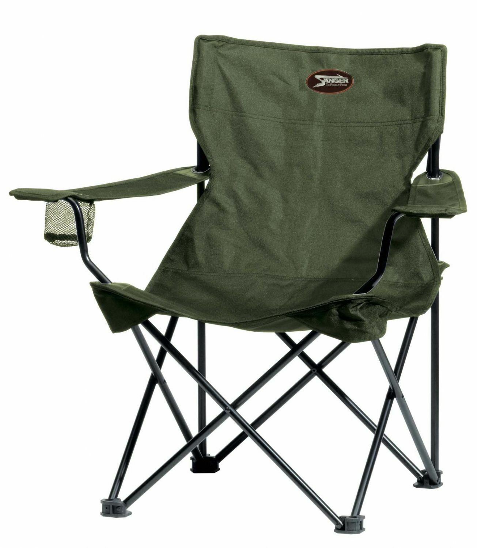 Sänger Specitec Travel Chair Faltstuhl mit Dosenhalter Angelstuhl Anglerstuhl