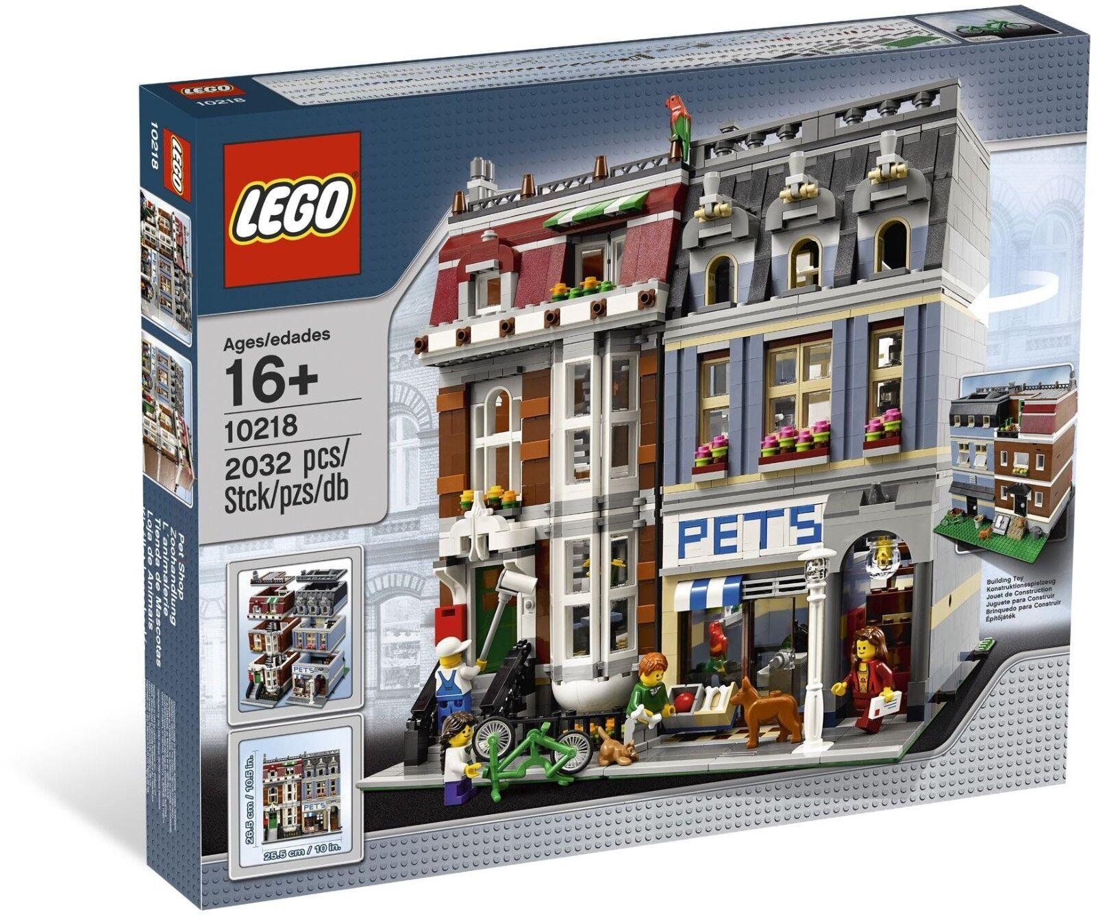 LEGO Creator  PET SHOP  10218 Modular Building 4 Rare Minifigures New Sealed Box