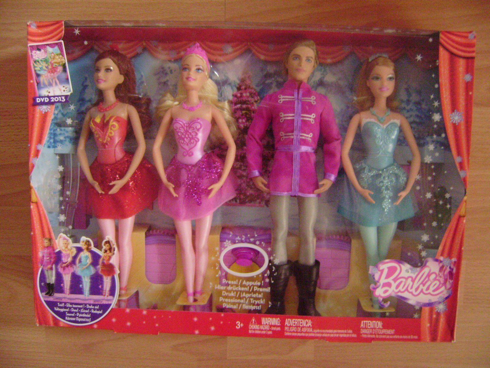 Barbie Doll-Set , Barbie und die verzauberten Balletschuhe, NEU