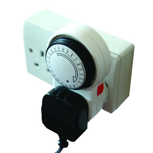 LUMII manual 13A hydroponic light,heater /& fish tank pump 24 Hour Plug In Timer