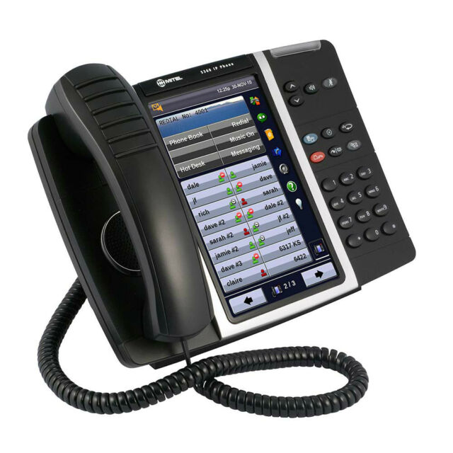 Mitel 5360 IP Phone 50005991 Includes Cordless Handset