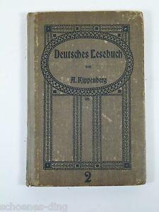 Kippenberg-A-Deutsches-Lesebuch-A2-1917