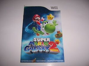 Super-Mario-Galaxy-2-Instruction-Book-Booklet-Manual-for-Nintendo-Wii