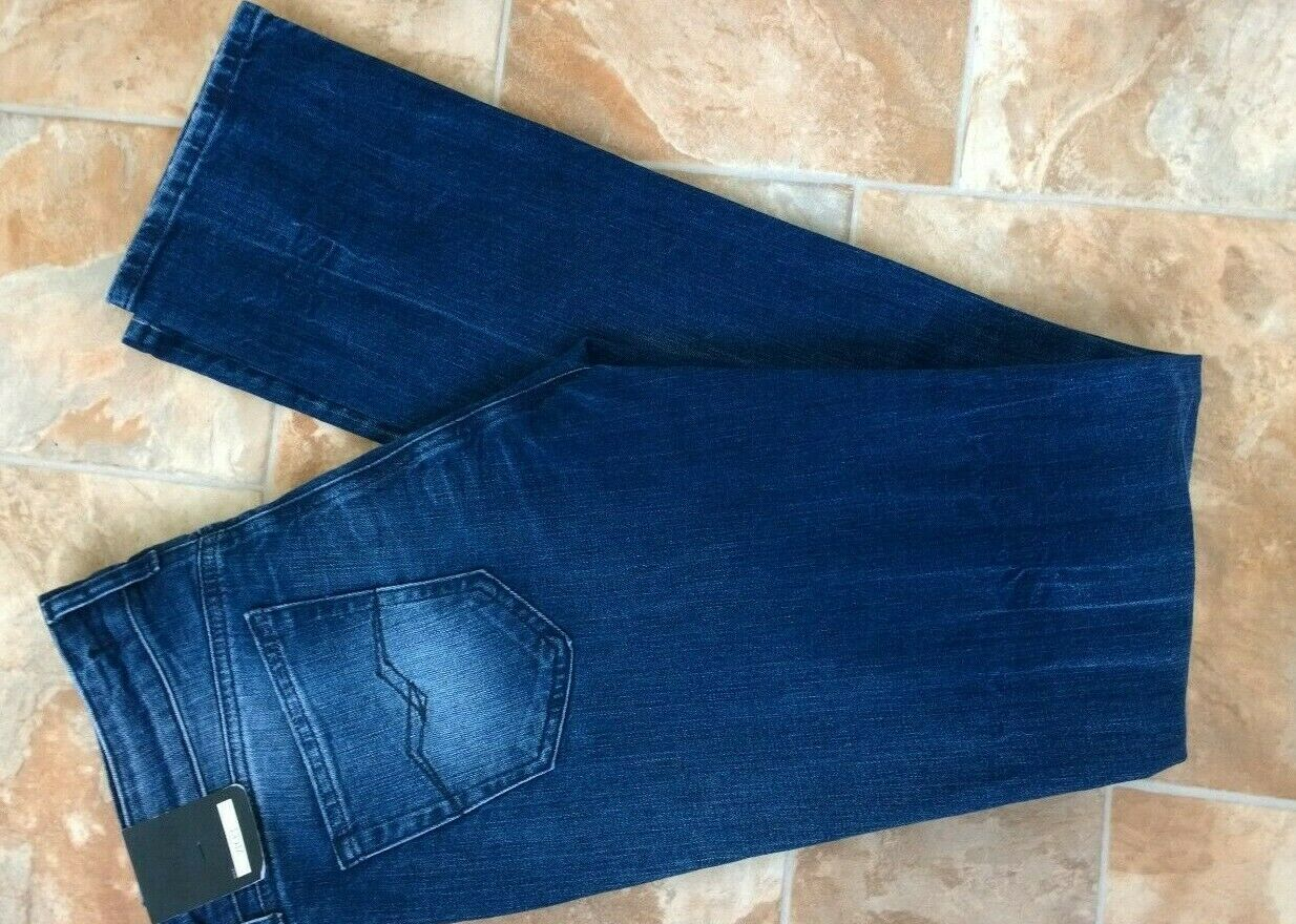 REPLAY Vicky Jeans, W30, L34, Blu, MID RISE, slim fit, dritto, stretch, Donna