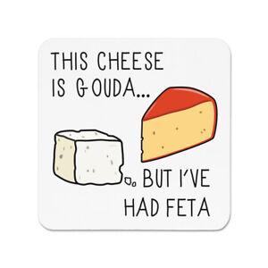 CE fromage est Gouda mais j/'ai eu Feta Aimant de Réfrigérateur Drôle Blague