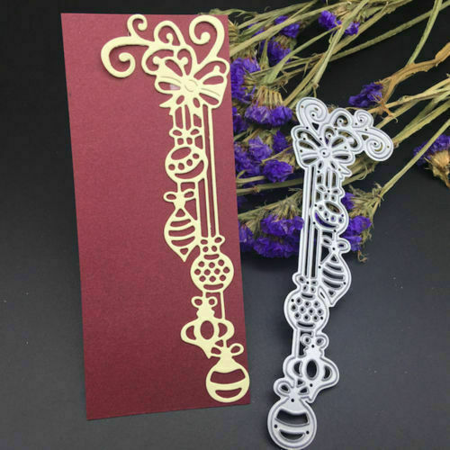 7pcs bow cutting dies stencil scrapbook album paper embossing craft DIY ME