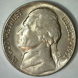 1951-D Jefferson Nickel Choice//Gem BU Uncirculated