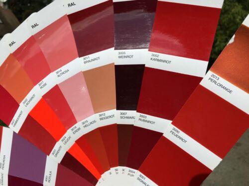 Rouge Rubis RAL 3003 brillant direct durcisseur diluant Peinture carrosserie